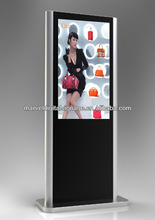 65 inch standing lcd advertisement display interactive
