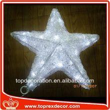 High Quality star new fresh sparkle motif led christmas