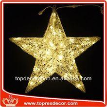 LED Lighting star christmas decoration acrylic penguin