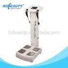 Professional body analyzer bmi weight machine