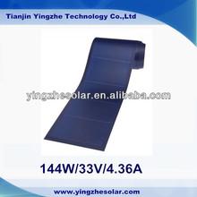 144W / 33V / 5.3A Portable Flexible Amorphous Solar Panel