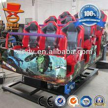 Amusement theme park hydraulic 5d cinema 5d cinema game machines
