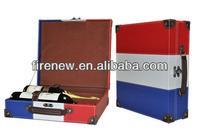 Triple Bottles PU Wine Box, Wine Carrier, Wine Packaging Box FN3051