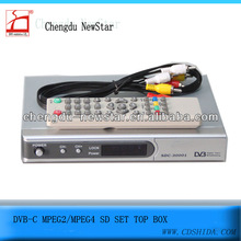 dvb-c sd digital cable receiver