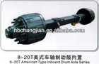 13T axle for semitrailer FUWA AXLE high quality with best price
