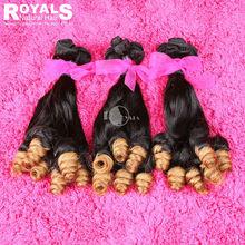 Funmi hair ombre hair Nigeria aunty curl 100% wholesale virgin malaysian hair