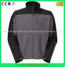 Custom fashion long sleeve men's super warm softshell winter jackets- 6 Years Alibaba Experience