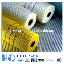 Guangzhou fiberglass mesh 5*5 mm(1*50m ) / 145g Alkali-resistant Fiberglass Mesh Roll
