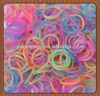 Fun loom color rubber band/ loom rubber band bracelet factory sale directly