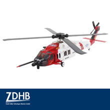 DTS F130 BH Scale Flybarless Black Hawk RC Helicopter