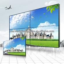 46 pollici ha lcd video wall con 5.3mm cornice ultra sottile retroilluminazione a led per display pubblicitari in centro commerciale/mostra 2015