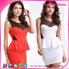 2014 wholesale cheap elegant ladies formal office dresses for women