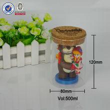 Fashion glass craft, beautiful gift custom, DIY glass jar craft