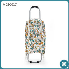 2015 new arrive cooler shopping trolley bag with wheels