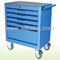 27'' wide 5drawers metal tool box