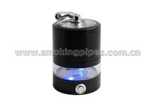 4 parts New design Handle Herb Grinder with LED ( tobacco grinder )