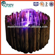 Guangzhou high quality customized factory supply small musical fountains with remote controller
