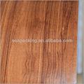 2014 plain grão de madeira pvc folha de revestimento de madeira para a guarnição interior