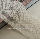 2014 new design embroidery dubai laces trim