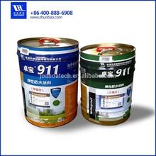 Double component water based polyurethane waterproof coating PU waterproofing