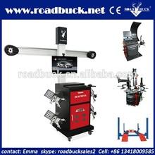 Road Buck G581 32'' LCD 3d wheel alignment machine price/wheel balancer/tire changer