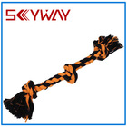 Eco-friendly fine colored Dog cotton Rope Toy pet product