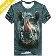 Custom t shirt 3d, 3d t-shirts, animal printed 3d t-shirt