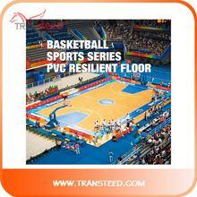 abrasion resistant 6.0mm pvc floor