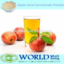 Fruit Drink 100% Natural Spray DriedApple pó, De suco de maçã em pó, Maçã concentrado de suco de