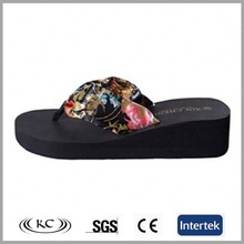 Diy dressy fabric wedge in bulk bling gitter heeled sandal shoes black dressy flip flops with rhinestones