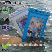 waterproof bag for phone/cellphone waterproof bag/pvc waterproof bag for phone