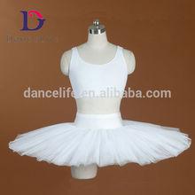 AP032 Wholesale adult White half professional ballet tutu dress costumes skirts