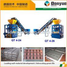 machine block and brick maker qt4-24 dongyue machinery group