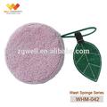 Whm-042 super absorbente cuerpo cómodo esponja de lavar, baño de esponja de limpieza, esponja de ducha