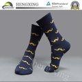 Personalizada de la tripulación calcetines con el calcetín de algodón/a granel barato al por mayor de algodón a rayas calcetines/personalizado hombre calcetines venta al por mayor de china