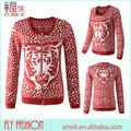 Dc207# moda animale tigre pattern uncinetto maglia maglione donne come per maglieria maglioni per le donne oem indumento fabbrica