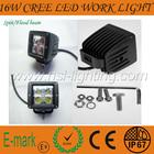 16W Tractor Offroad LED work Light,Working Lamp,Fog Light Kit /4x4 off road boat light 12V&24V LED spotlight