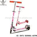 3 tekerlekli scooter katlanabilir tasarımı ile