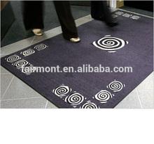 Economic Printed Mat to UK / 100% Nyon Logo Mat with Rubber Backing MO-02
