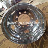 truck steel wheel polish