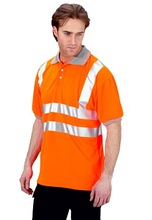Rail Spec Polo Workwear T shirt Used Clothing