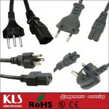 Brazil power cord switch UL CE ROHS 1207