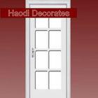 latest design wooden door window insert