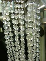 Sparkling Transparent Bead Curtain Beads Clear Doorway Door Hanging