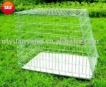 Many colors safty wire folding sloping wire dog cages