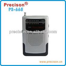 High Quality outdoor Radio Mini Speaker am fm 2 band