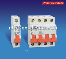 MCB 125A 10KA Miniature Circuit Breakers
