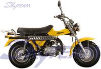 "SKYTEAM SUZUKI T-REX 50cc 4 stroke on road motorcycle (EEC approved, 5.5-10""/5.5-10"")"