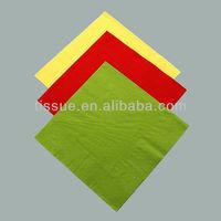 Disposable color paper napkin
