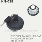 KN-038 locking fuel tank cover cap